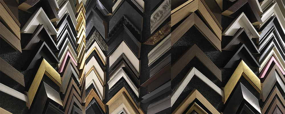 SG Framing in Manchester - Variety of Picture Frame Mouldings