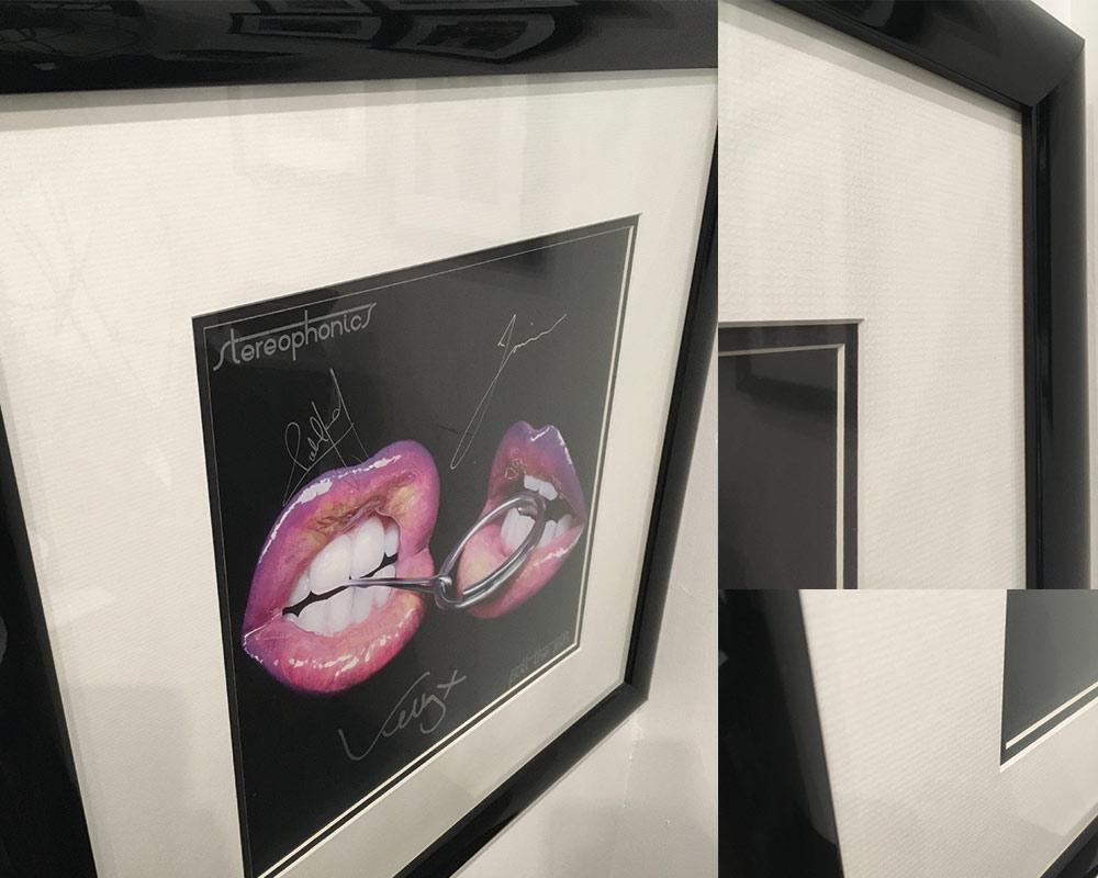 Manchester Arena Stereophonics Artwork Framed