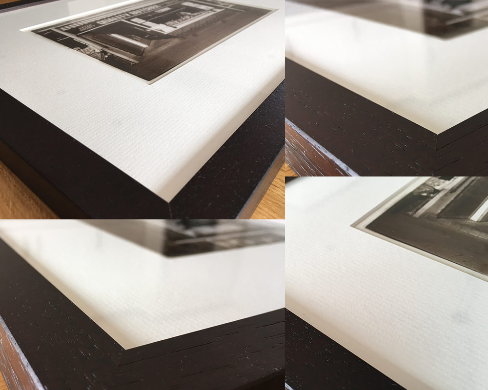 SG Framing Manchester - Picture Framing in Manchester - Withington Manchester Butcher Photo Framed - Call 0161 881 8711