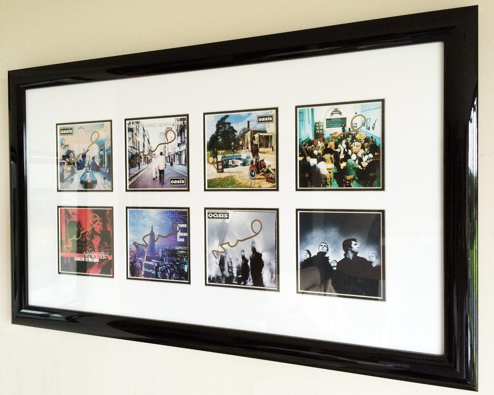 SG Framing in Manchester frames Manchester Music Artwork